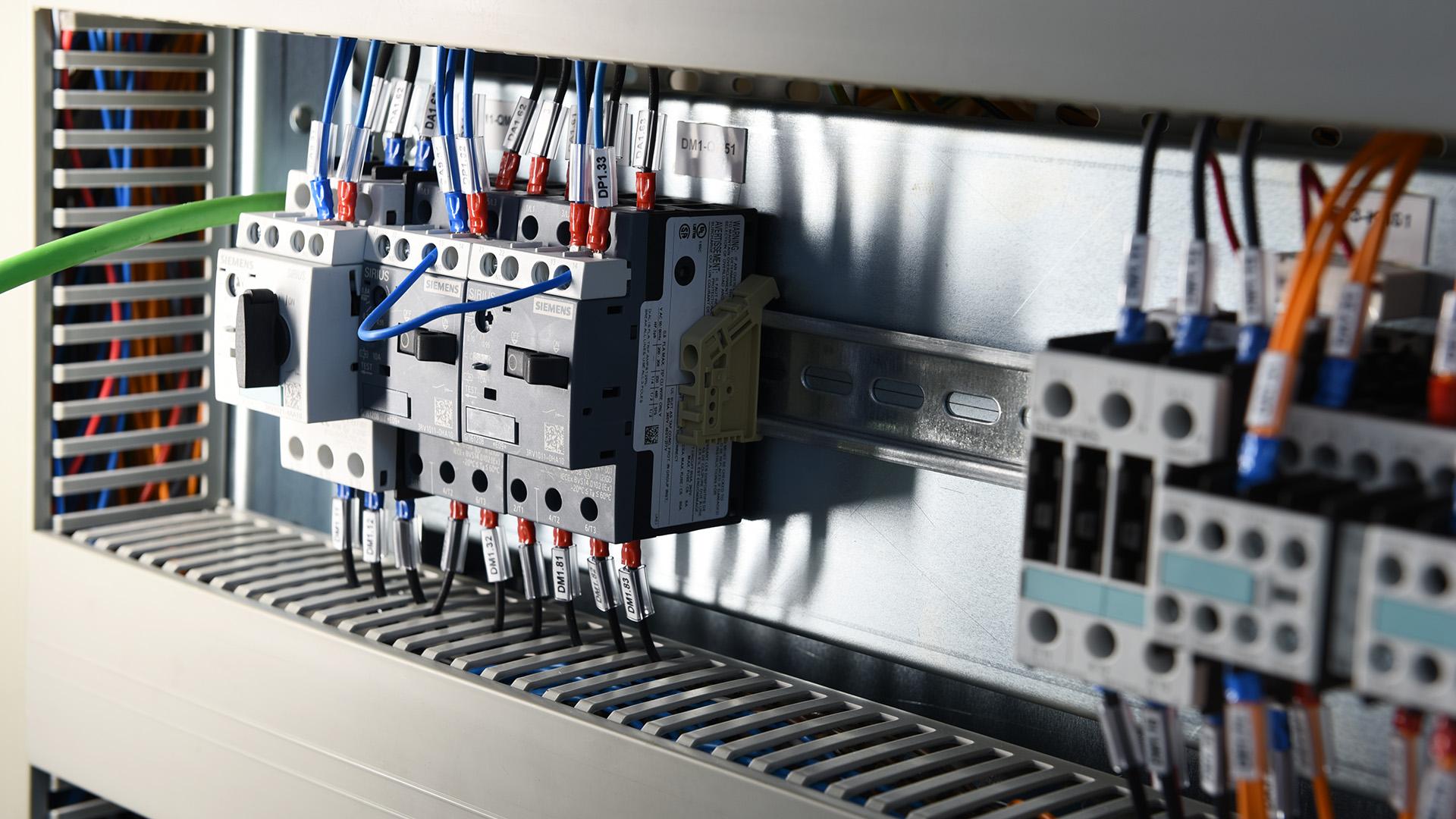 Cablaggio generatori industriali